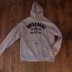 Adidas Notre Dame Sweatshirt
